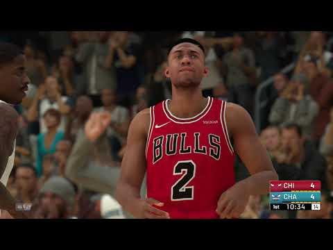 NBA 2K19 - Chicago Bulls vs Charlotte Hornets