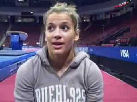 Alicia Sacramone Funny Interview