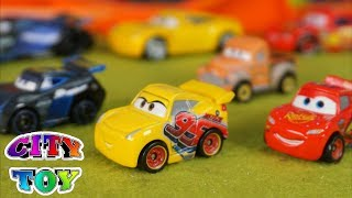 CARS 3 🚘🔍 Mini coches de juguete