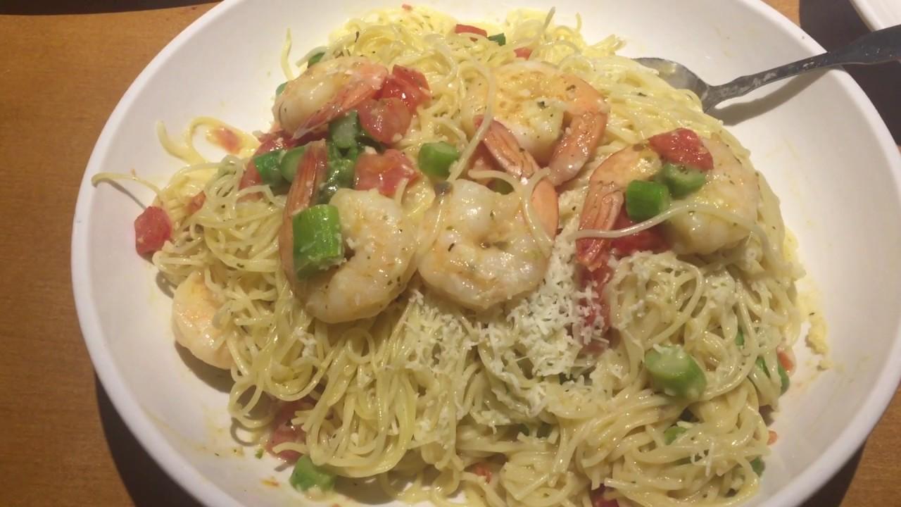Olive Garden Shrimp Scampi Youtube