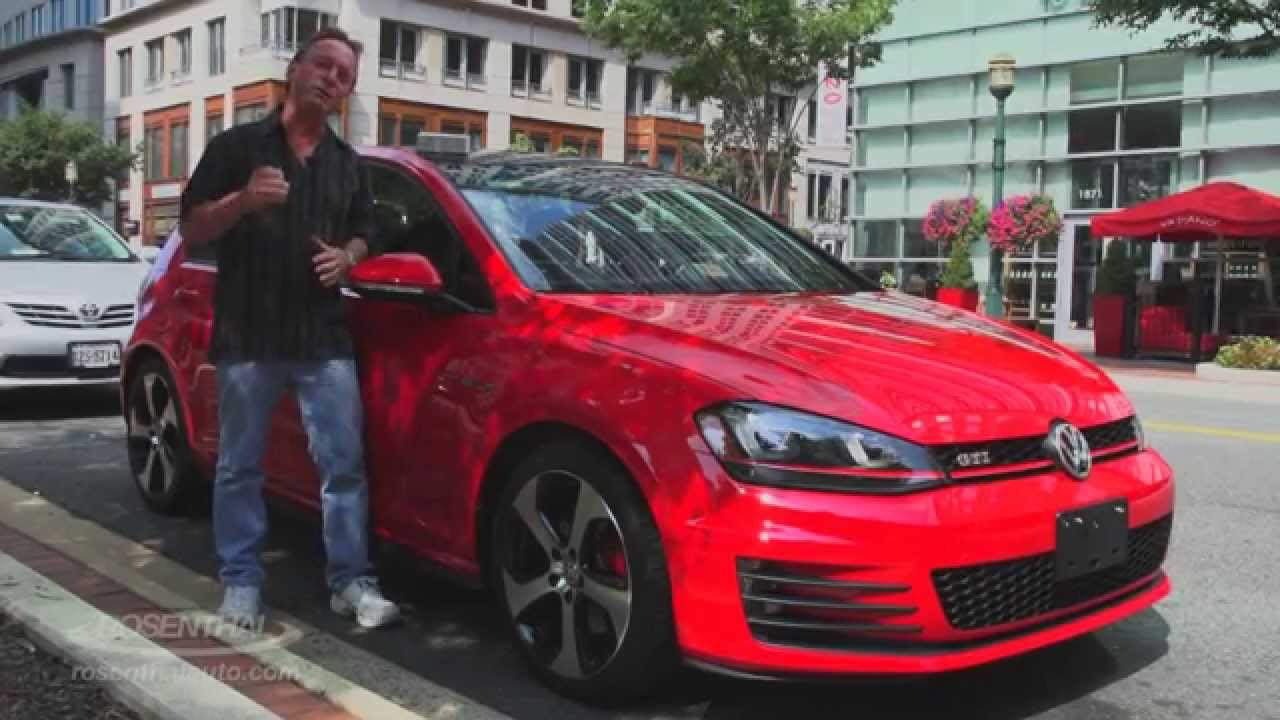 2015 VW Golf GTI Test Drive & Review - YouTube
