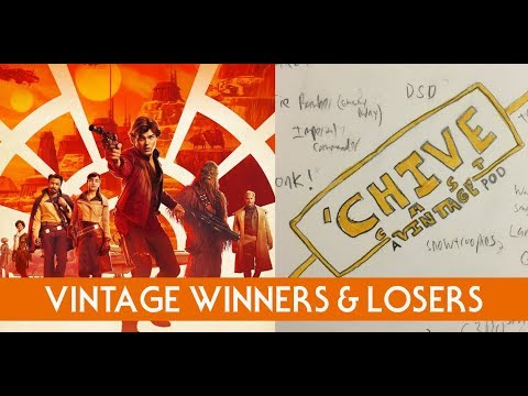Solo: Vintage Winners and Losers - The Star Wars Collectors Archive Episode 90
