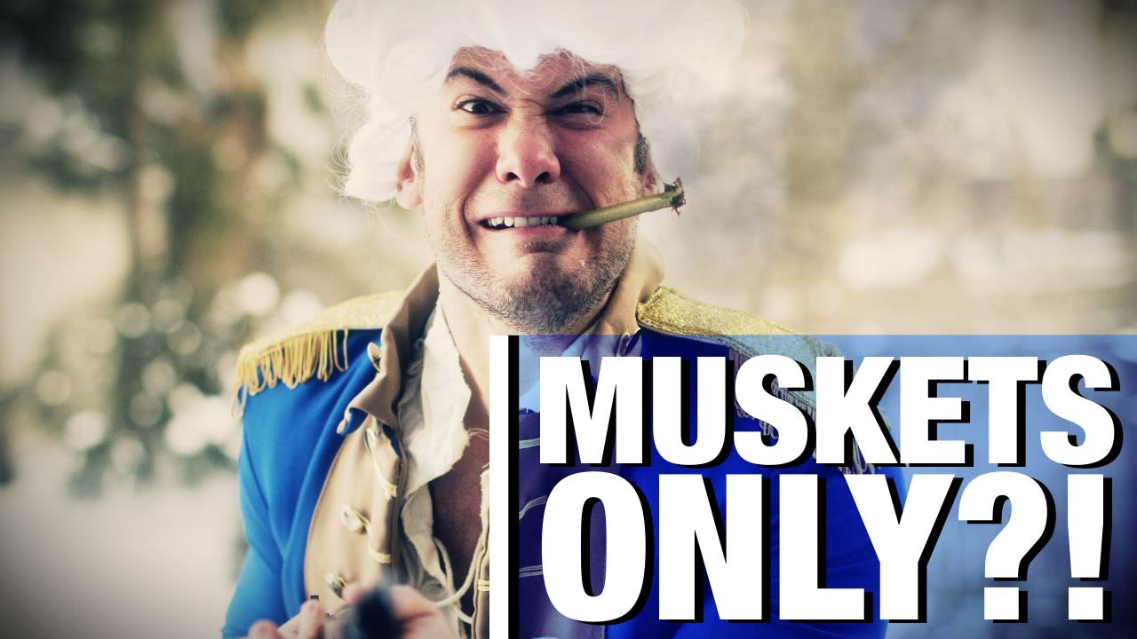 The 2nd Amendment : For Muskets Only?!
