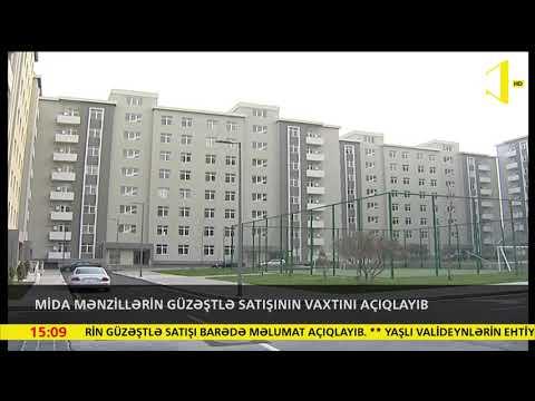 MİDA Mənzillərin Güzəştlə Satışının Vaxtını Açıqlayıb