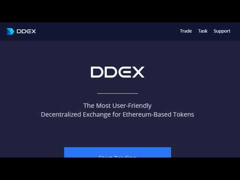 (Sponsored Content) DDEX Exchange Powered by the 0X Smart Contract.