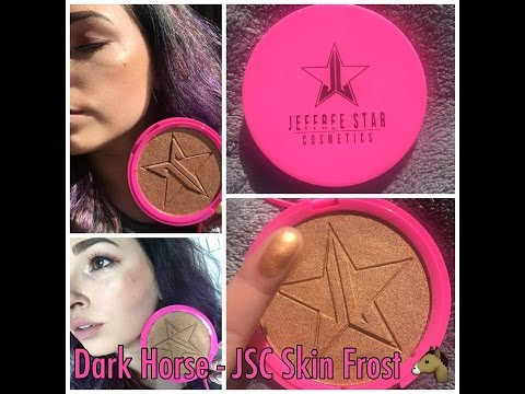 Dark Horse - Jeffree Star Cosmetics   Skin Frost  Review And Swatch