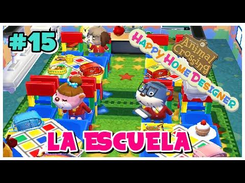 Animal Crossing Happy Home Designer 15 Escuela Infantil