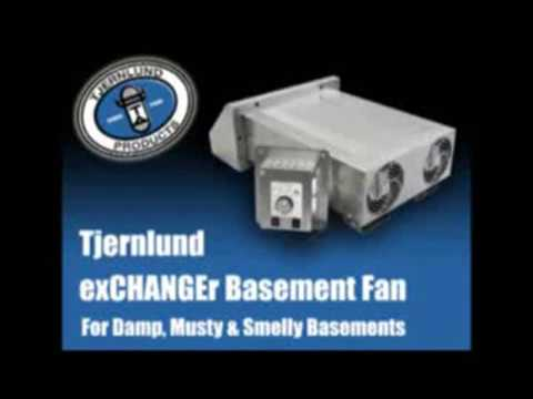 tjernlund products xchanger reversible basement fans model x2d