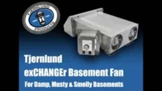 Tjernlund Products Xchanger Reversible Basement Fans, Model# X2D