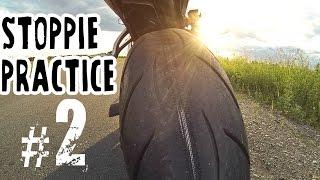 Учусь делать красивое СТОППИ #2 - STOPPIE practice