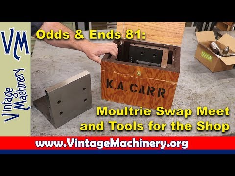 Odds & Ends 81:  New Tools and the Moultrie Swap Meet