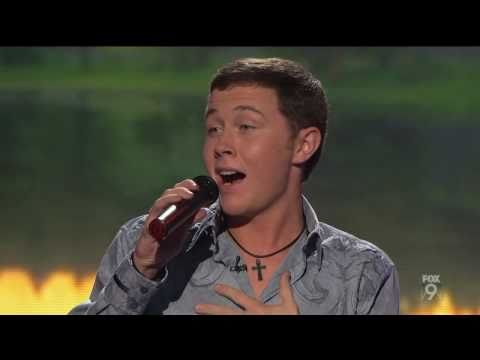 "true HD Scotty McCreery ""The River"" - Top 13 American Idol 2011 (Mar 9)"