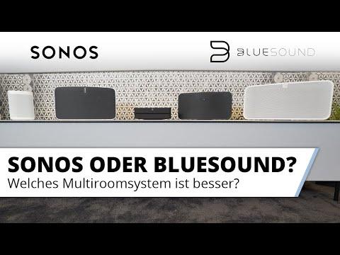 Sonos oder Bluesound? Vorstellung und Vergleich der Multiroom Systeme