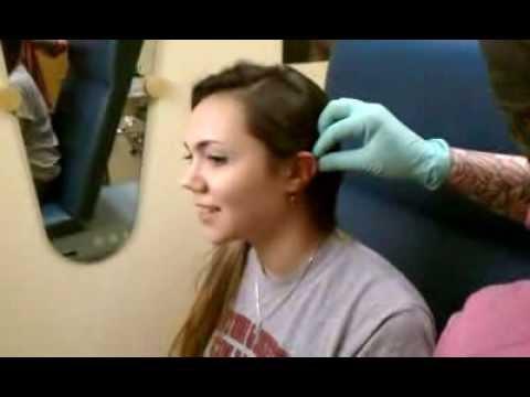Double Helix Piercing - YouTube Ear Piercings Cartilage