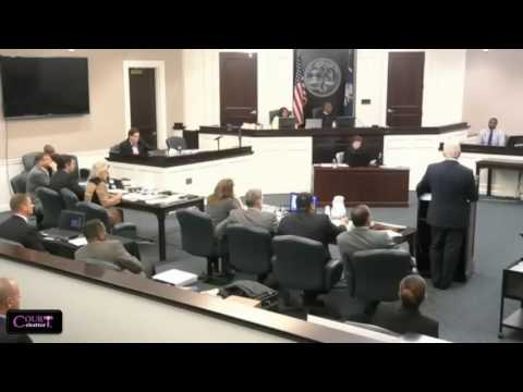 Michael Slager Trial Day 1 Part 1 11/03/16