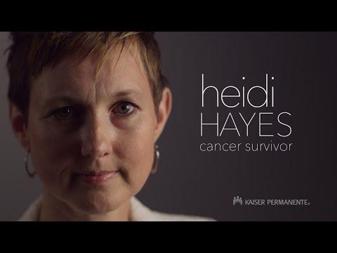 Breast Cancer Survivor Heidi Hayes  Kaiser Permanente