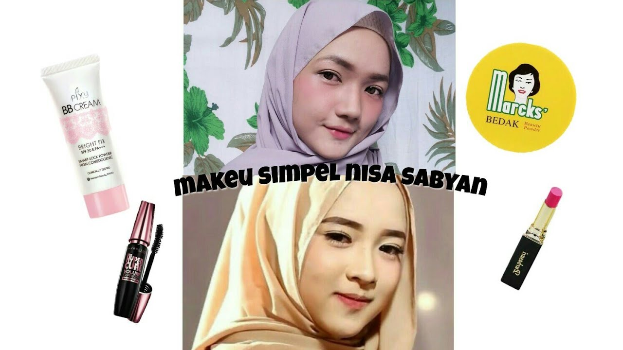 tutorial makeup (ala nisa sabyan )🌸 - youtube