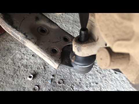 Ford Focus 2 Замена шаровых