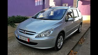 Peugeot 307 SW 2.0i 136hp 2004
