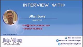 Alllan Bowe , SAS Expert
