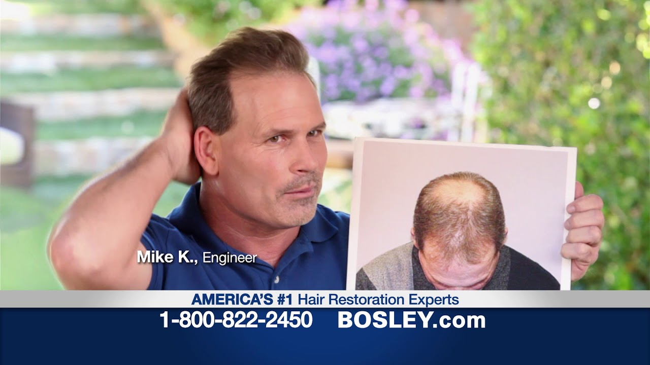 Bosley Commercial Your Hair 60 Free Info Kit Youtube