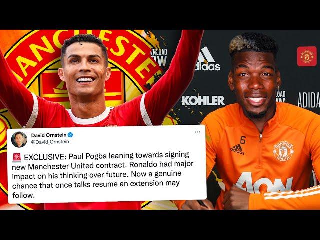 Has Cristiano Ronaldo Just Convinced Pogba To Sign NEW DEAL?! | W&L