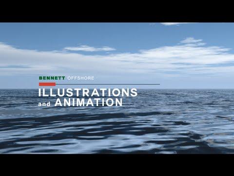 Bennett Offshore Illustrations and Animation