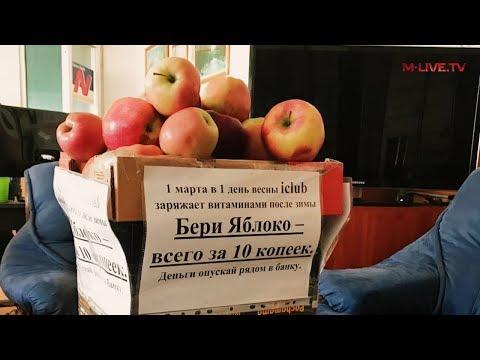 Яблочная социальная акция