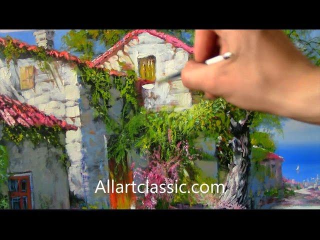 Mediterrane Gemälde so wird s gemacht mediterrane szene malen nr 106