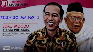 Download Video JOKOWI - MA'RUF AMIN ( JO - MA ) # 2019 TETAP JOKOWI # JOKOWI 2 PERIODE # MP3 3GP MP4