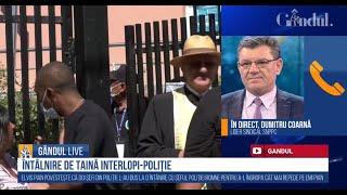 Dumitru Coarnă confirmă întâlnirea de taină dintre șefii din Poliție și reprezentanții clanurilor