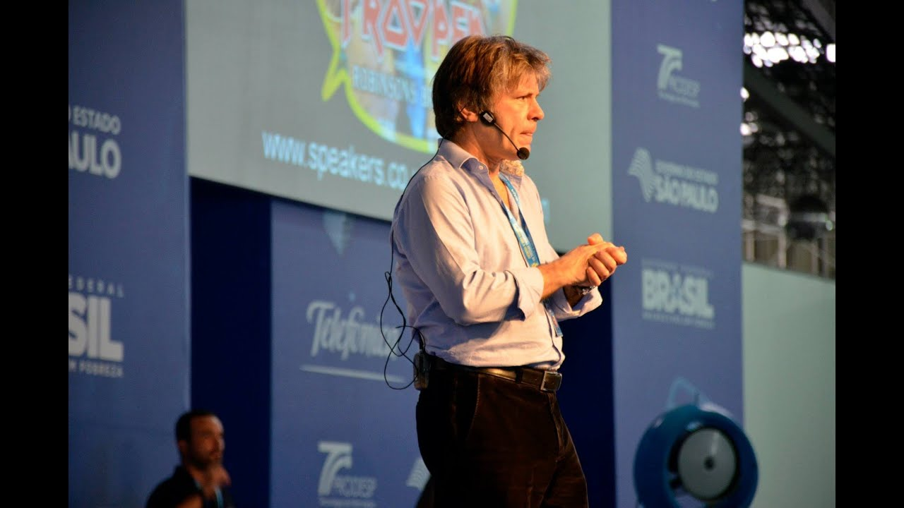 Bruce Dickinson Campus Party 2014 - Palestra na íntegra