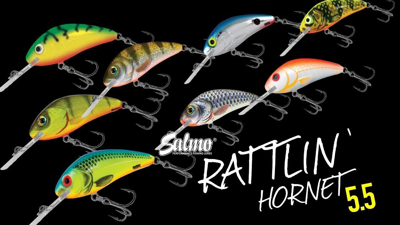 Floating Hard Lure Salmo RATTLIN/' HORNET