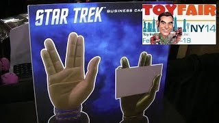 Icon Heroes Star Trek Product Display at New York Toy Fair 2014