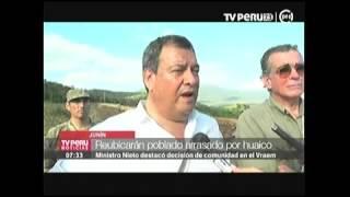 TV PERU MINDEF EN PUERTO PRADO