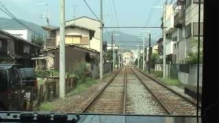 京福電気鉄道(嵐電)嵐山本線【蚕ノ社~嵐山】