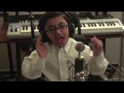 "Eminem - ""Not Afraid"" Clean Cover By Sparsh Shah (PURHYTHM)"