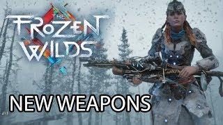 HORIZON ZERO DAWN The Frozen Wilds DLC - NEW  BEST WEAPONS