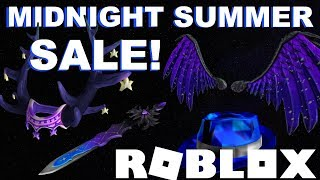 ROBLOX SALE Mid-Summer Night 2019 [UPDATED!]