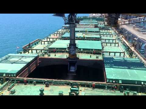 Loading the capesize with coal