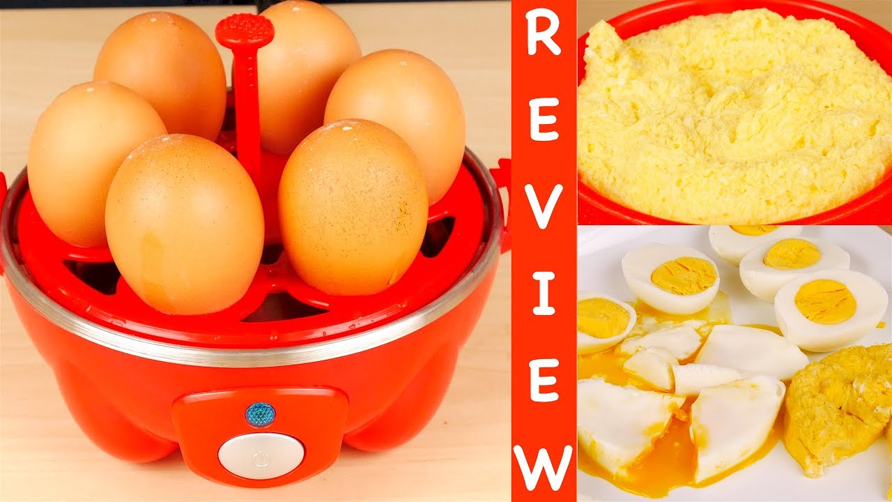 Dash Go Rapid Egg Cooker Review - YouTube