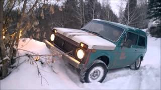 видео Тест-Драйв ВАЗ 21214 Нива, Бронто Фора 21218, ВАЗ 2131 Нива, Chevrolet Niva (Шевроле Нива)
