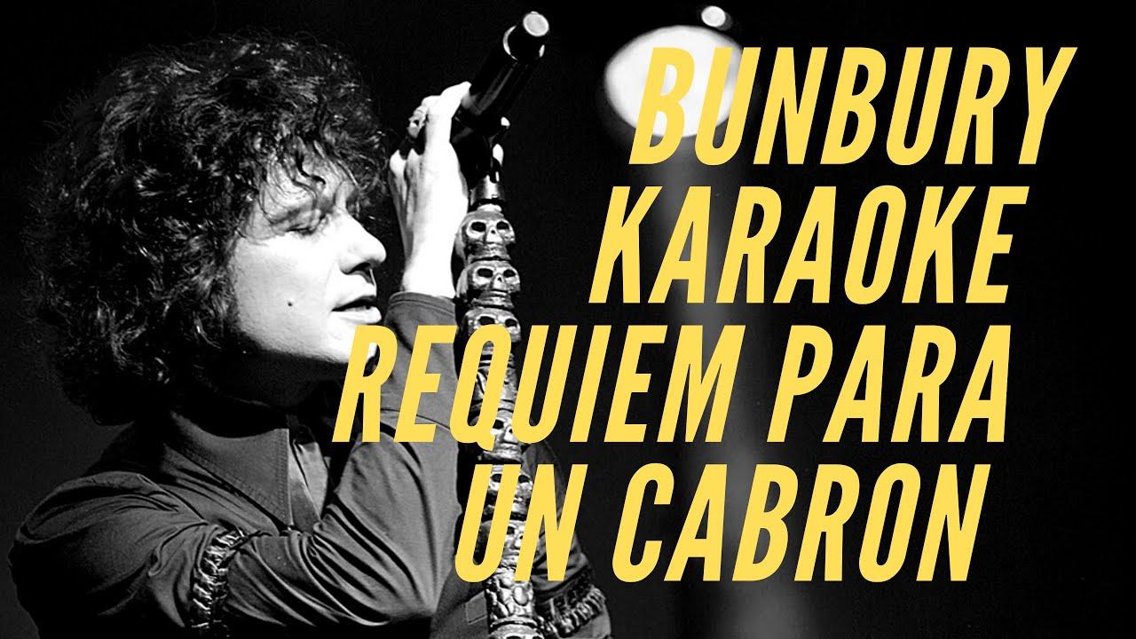 Bunbury   Requiem Para Un Cabrón Letras de canciones   L HIT.COM ...