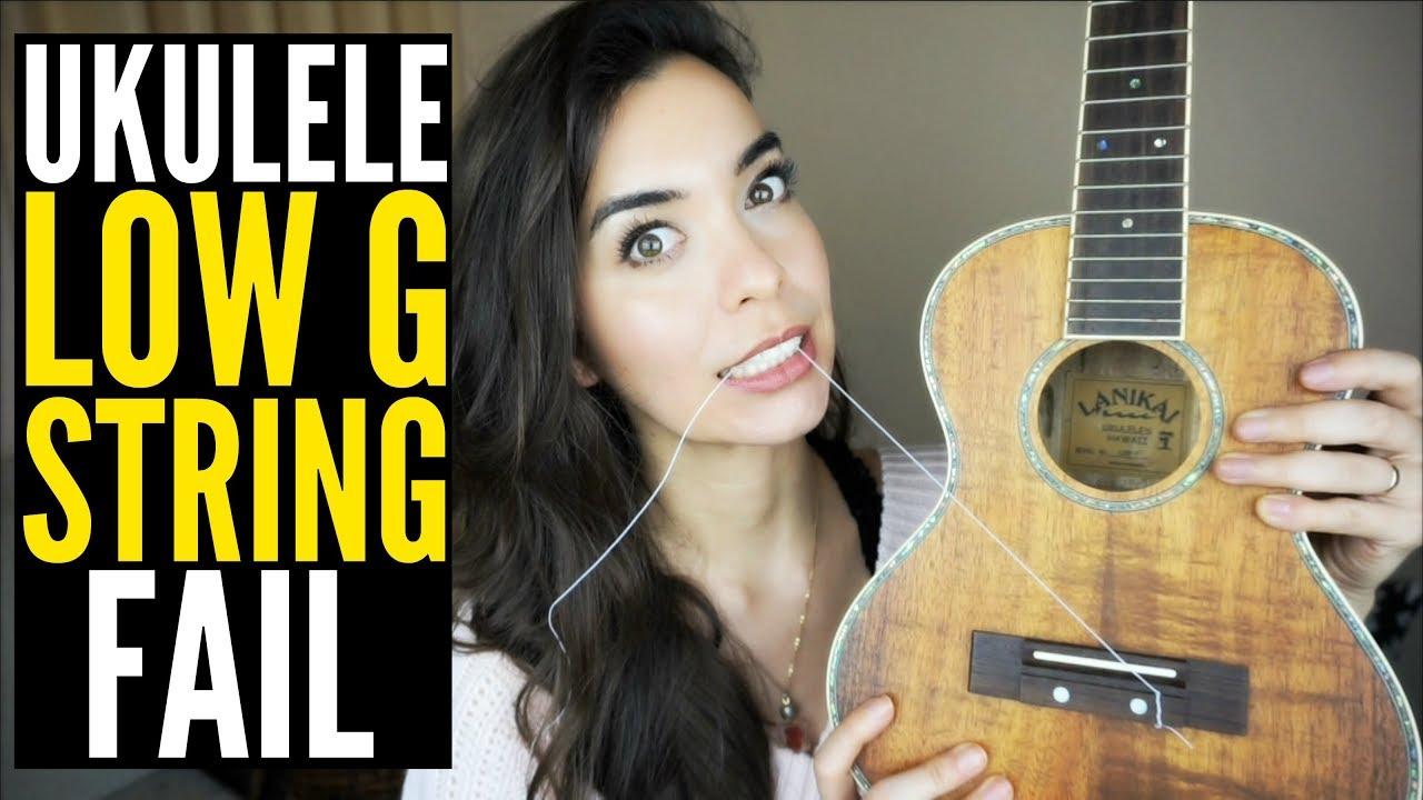 ukulele low g string review youtube. Black Bedroom Furniture Sets. Home Design Ideas