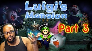 Luigi's Mansion (Part 3) | Nintendo Gamecube | FRIGHT NIGHT SUNDAY