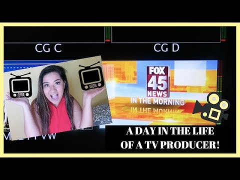 A DAY IN THE LIFE OF A TV PRODUCER!