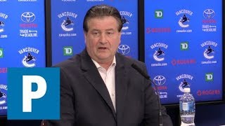 Full press conference: Canucks GM Jim Benning on trade deadline day | The Province