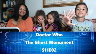 Doctor Who Reaction - The Ghost Monument - S11E02