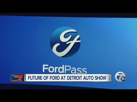 Future of Ford at the Detroit Auto Show