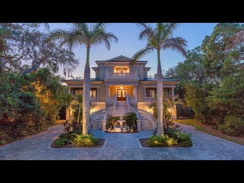 605 Orange St, Palm Harbor FL - Luxury Waterfront Real Estate For Sale